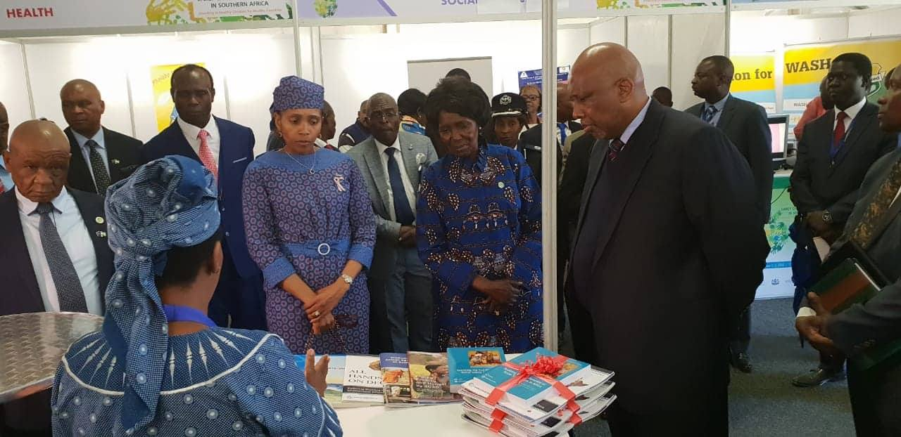 Veep Inonge Wina Calls For Rapid Intervention In Nutrition And Early